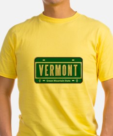 Vermont Plate T