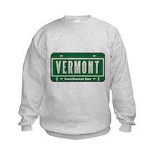 Vermont Plate Sweatshirt