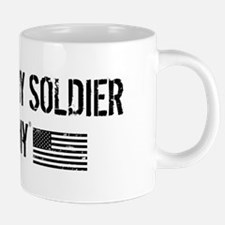 I Love My Soldier 20 oz Ceramic Mega Mug
