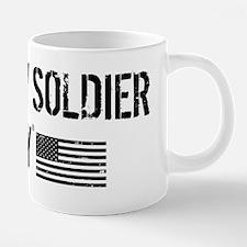 I Love My Soldier 20 oz Ceramic Mega Mug