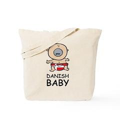 Danish Baby Tote Bag