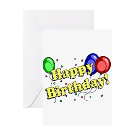 Happy Birthday 1 Greeting Card