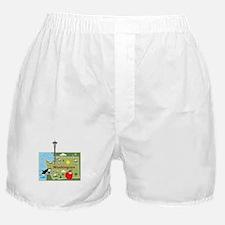 Washington Map Boxer Shorts