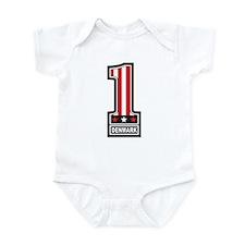 Number One Denmark Infant Bodysuit