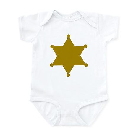 Sheriff Infant Bodysuit