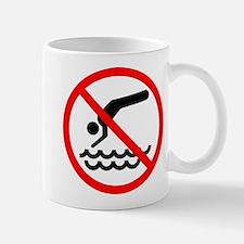 No Diving! Mug