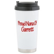 Proud Nana of Garrett Travel Mug