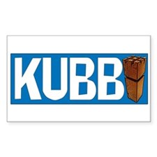 Kubb Rectangle Decal