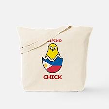 Filipino Chick Tote Bag