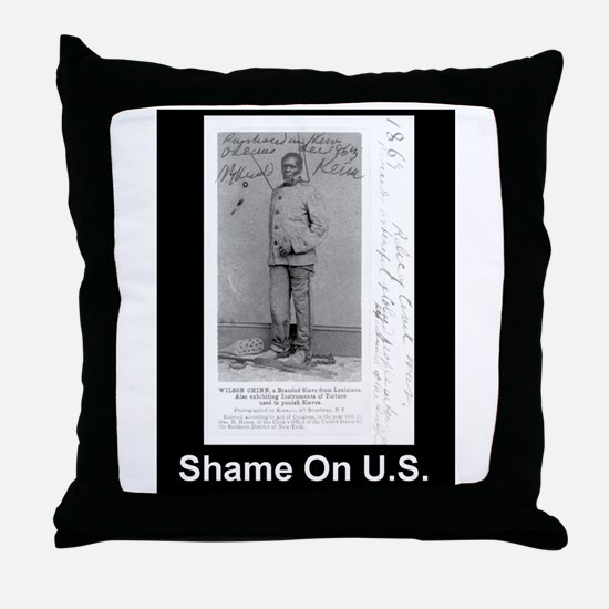 Tortured Slave Throw Pillow