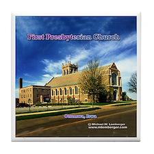 First Presbyterian Church Tile Coaster