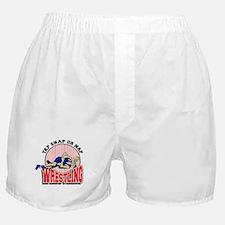 Tap Snap or Nap Wrestling Boxer Shorts