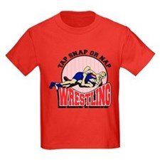 Tap Snap or Nap Wrestling T