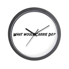 What would Carrie do? Wall Clock