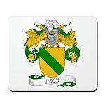 Leoz Coat of Arms Mousepad