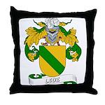 Leoz Coat of Arms Throw Pillow