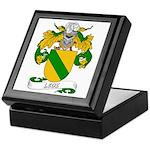 Leoz Coat of Arms Keepsake Box