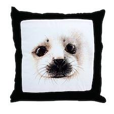 Water Mammals Throw Pillow