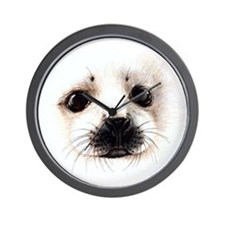 Water Mammals Wall Clock