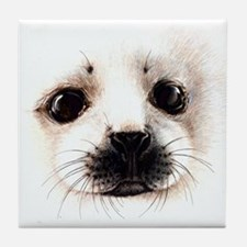 Water Mammals Tile Coaster