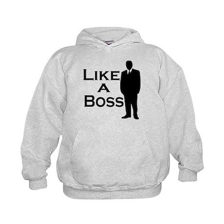 Like a Boss Kids Hoodie