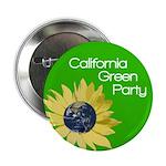 California Green Party button