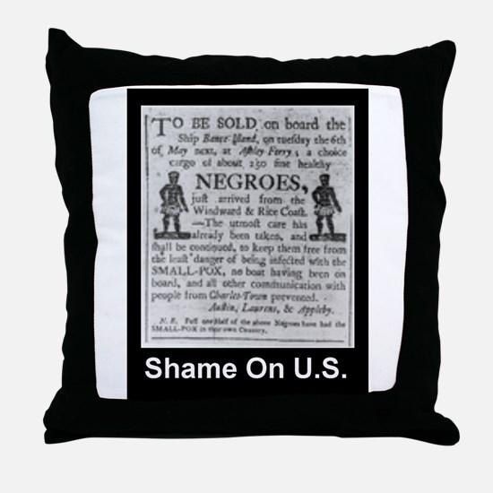 To be sold... Throw Pillow