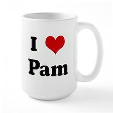I Love Pam Mug