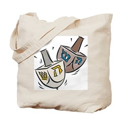Dreidel Tote Bag