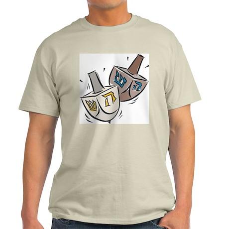 Dreidel Ash Grey T-Shirt