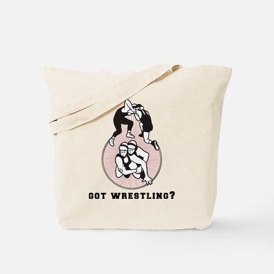Got Wrestling Tote Bag