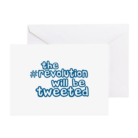 Twitter Revolution Greeting Cards (Pk of 10)