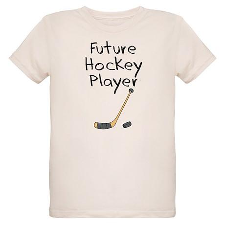 Future Hockey Player Organic Kids T-Shirt