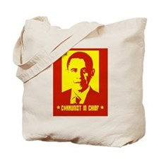 Obama Communist in Chief Tote Bag
