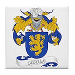 Lisola Coat of Arms Tile Coaster