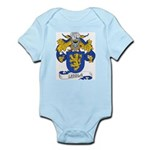 Lisola Coat of Arms Infant Creeper