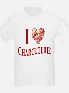 I Love Charcuterie T-Shirt