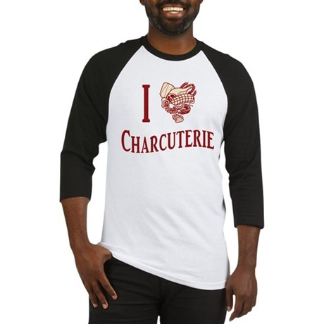 I Love Charcuterie Baseball Jersey