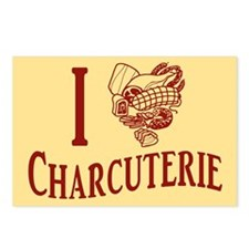 I Love Charcuterie Postcards (Package of 8)