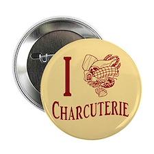 """I Love Charcuterie 2.25"""" Button"""