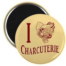 I Love Charcuterie Magnet