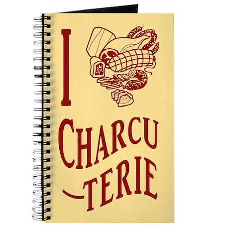 I Love Charcuterie Journal