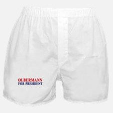 Olbermann for President Boxer Shorts