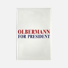 Olbermann for President Rectangle Magnet