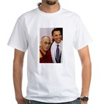 The Art of Happiness White T-Shirt