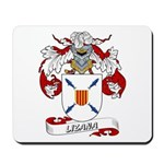 Lizana Coat of Arms Mousepad