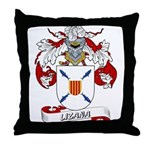 Lizana Coat of Arms Throw Pillow