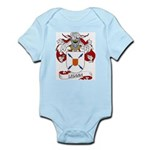 Lizana Coat of Arms Infant Creeper