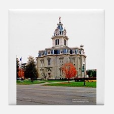 Davis County Courthouse Tile Coaster