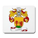 Llinás Coat of Arms Mousepad